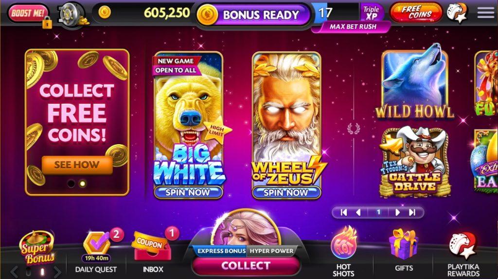 Caesars Casino Games on Facebook