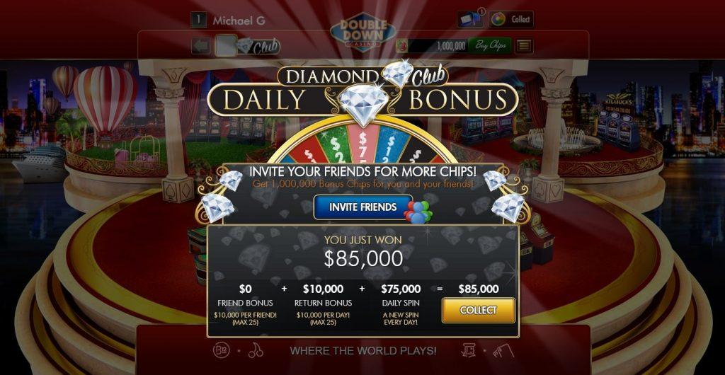 DoubleDown Casino Bonuses on Facebook