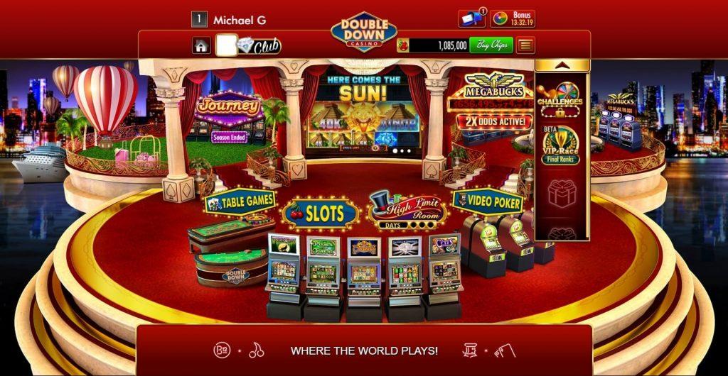 DoubleDown Casino Games on Facebook