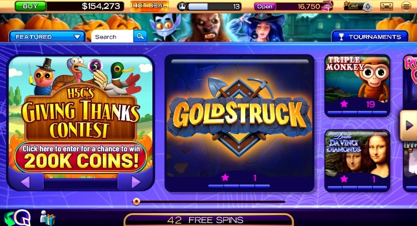 High Five Casino Games on Facebook