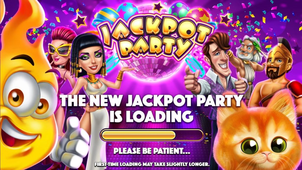 Jackpot Party Casino on Facebook