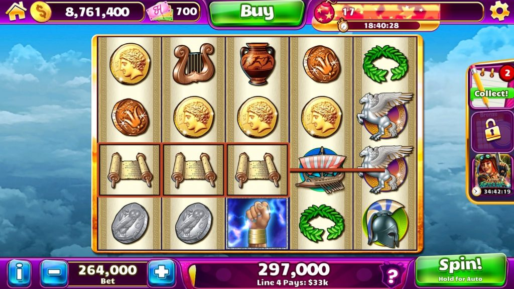 Jackpot Party Slots on Facebook