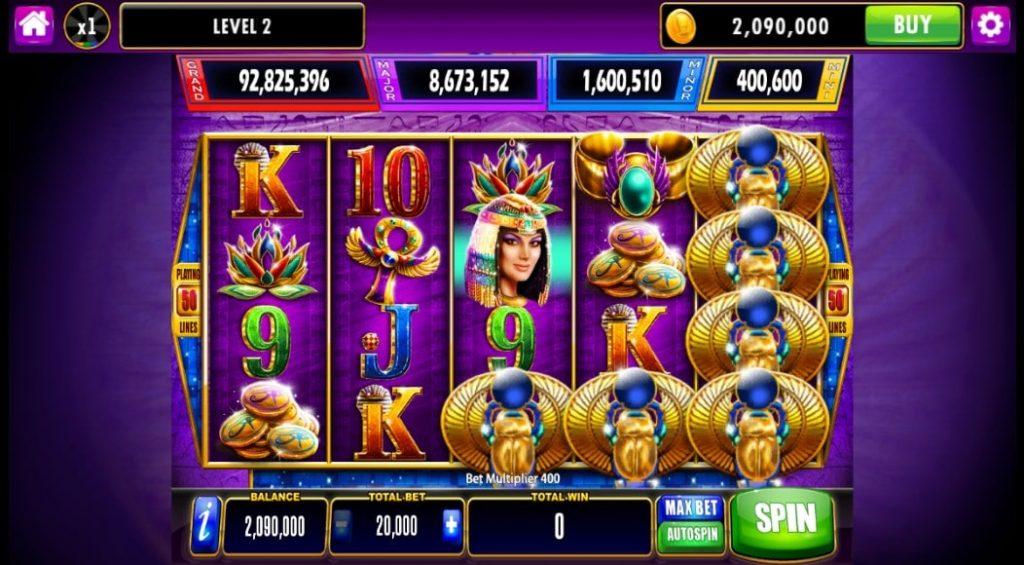 Slot Games at the Cashman Casino