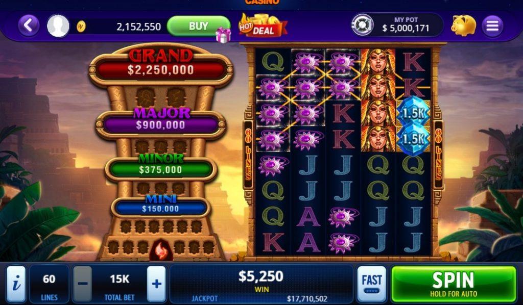 DoubleU Casino Slots on Facebook
