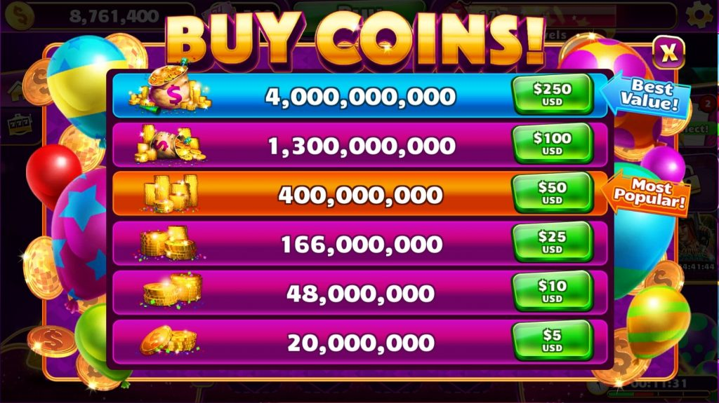 Buy Jackpot Party Coins