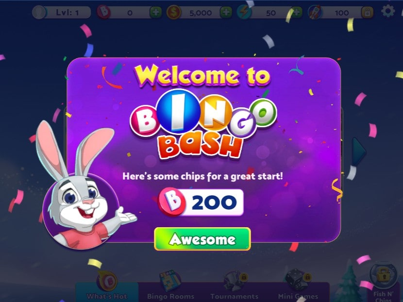 Bingo Bash Welcome Bonus