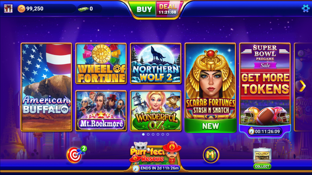 GSN Casino Games on Facebook