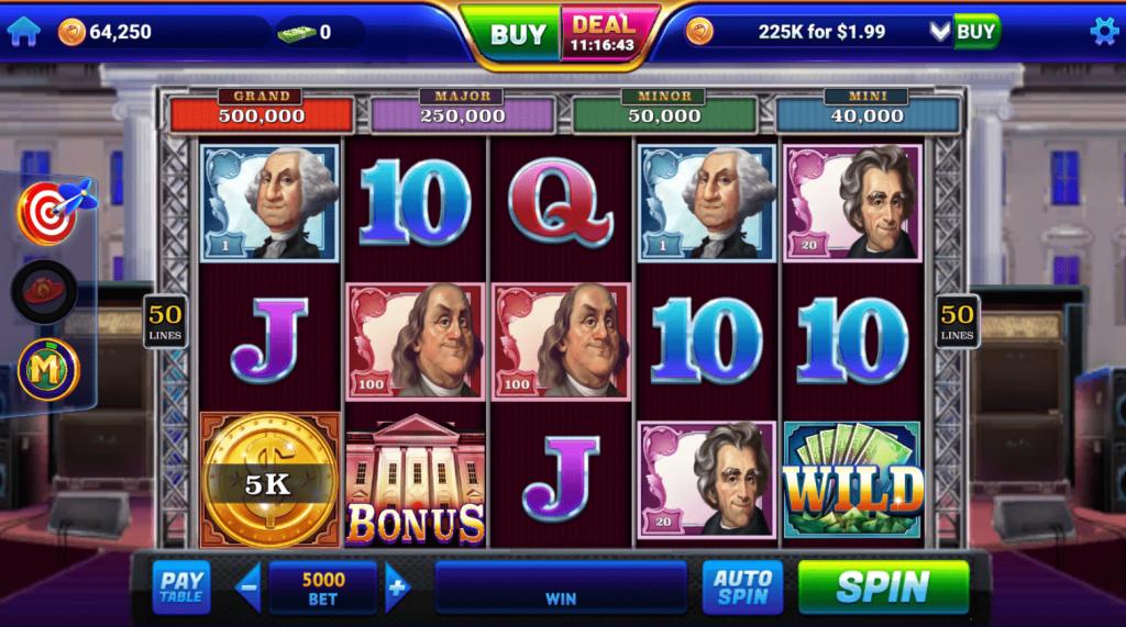 GSN Casino Slots on Facebook