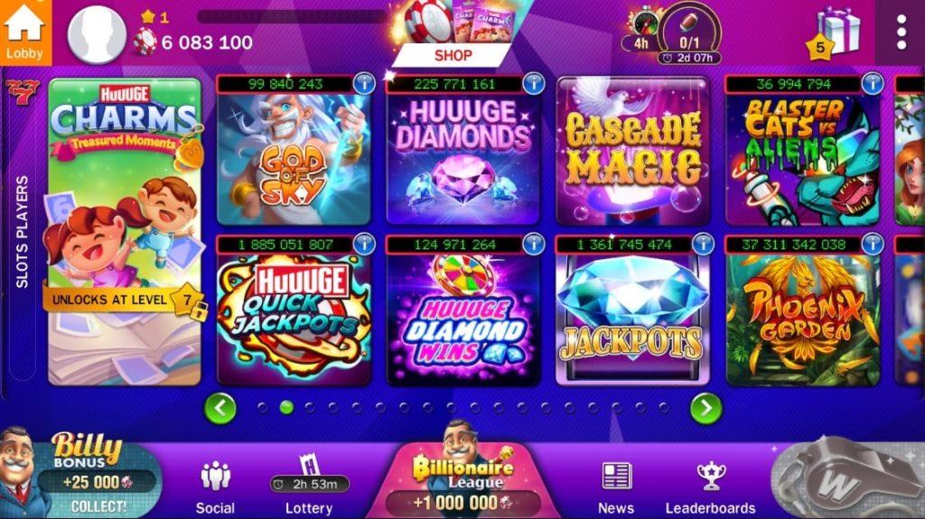 Billionaire Casino Games