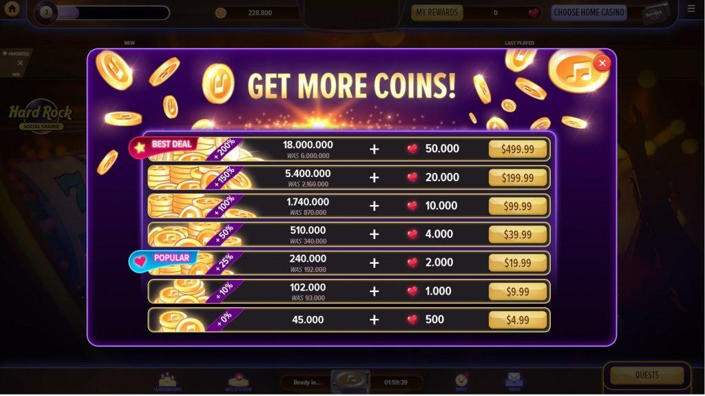 Hard Rock Social Casino Chips Market