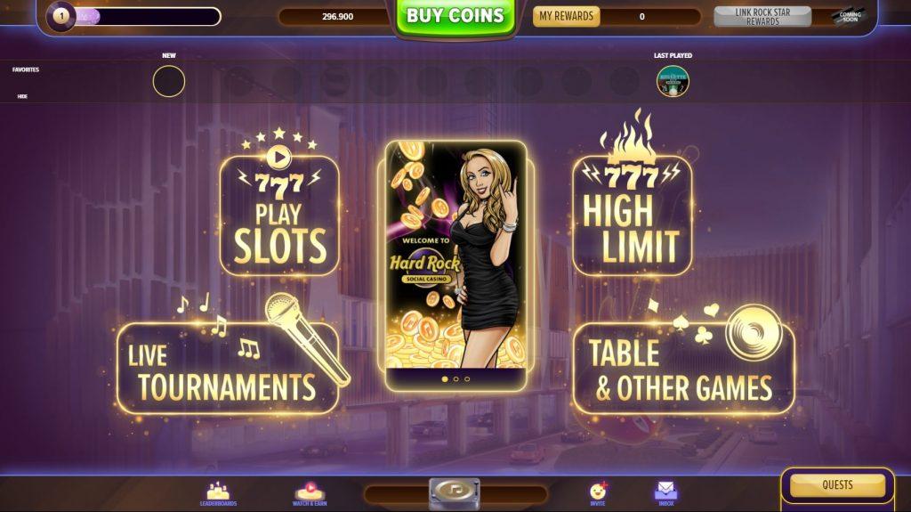 Hard Rock Social Casino Games