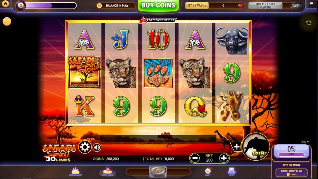 Hard Rock Social Casino Slots