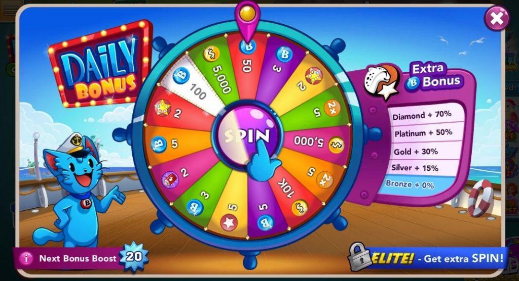 Bingo Blitz Daily Bonus Spin