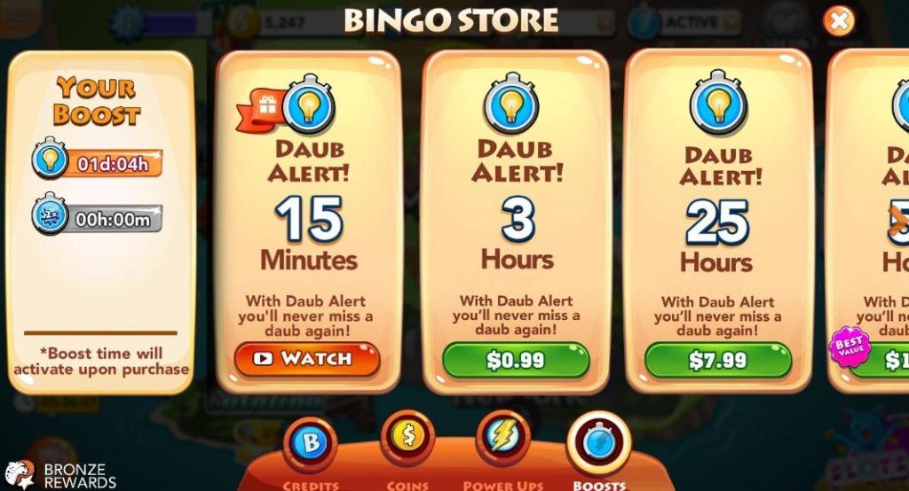 Bingo Blitz Store 1