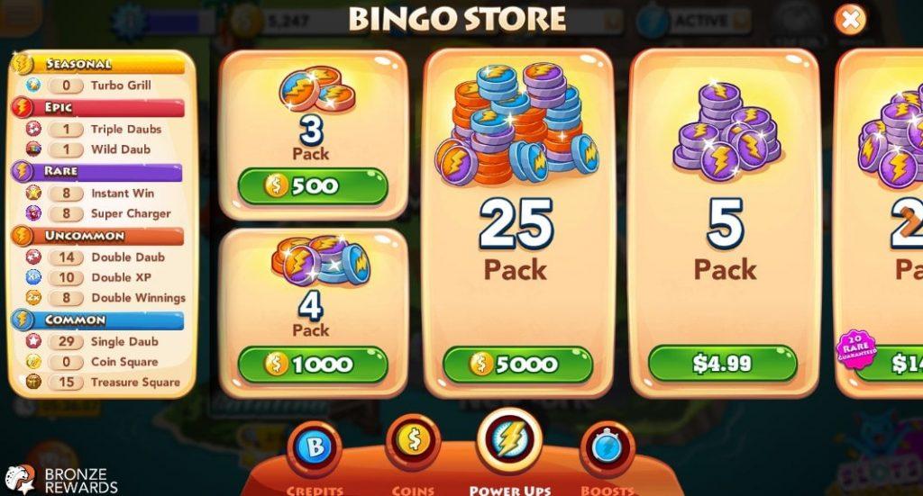 Bingo Blitz Store 2