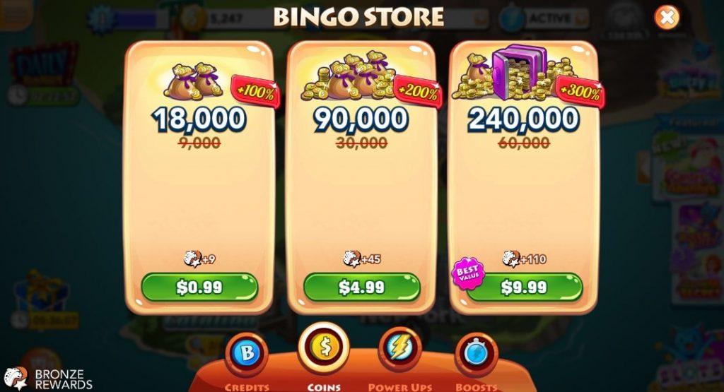 Bingo Blitz Store 3