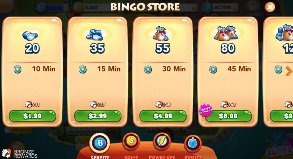 Bingo Blitz Store 4