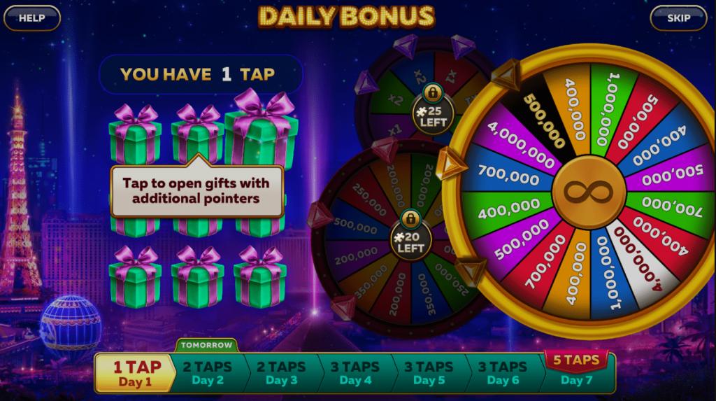Infinity Slots Bonus