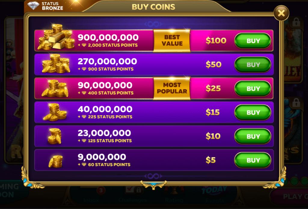Infinity Slots Chips Market